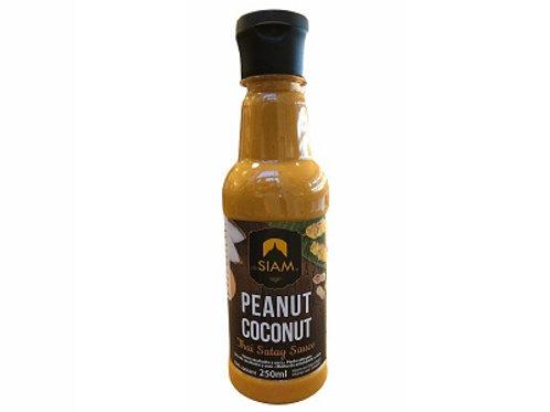 De Siam Peanut  Coconut Thai Satay Sauce 250ml