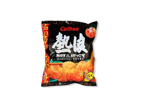 Calbee Potato Chips Hot And Spicy 55g