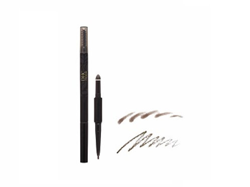 DHC Long Lasting Eye Brow EB01 Black Brown 3-in-1