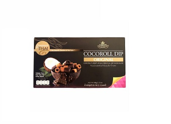 Coconut Crispy Roll Original Dip Chocolates 60g