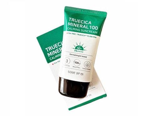 Korean Cosmetic Truecica Mineral 100 Calming Suncream