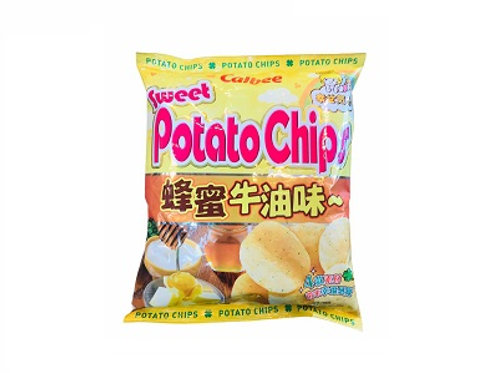 Calbee Potato Chips Honey Butter 55g