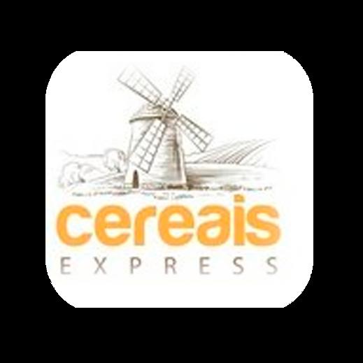 cereais express logotipo para o site do
