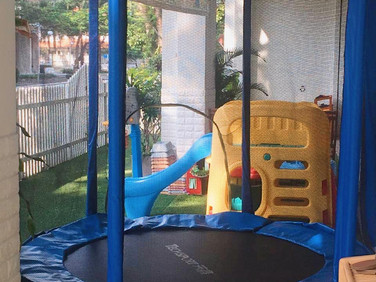 School trampoline