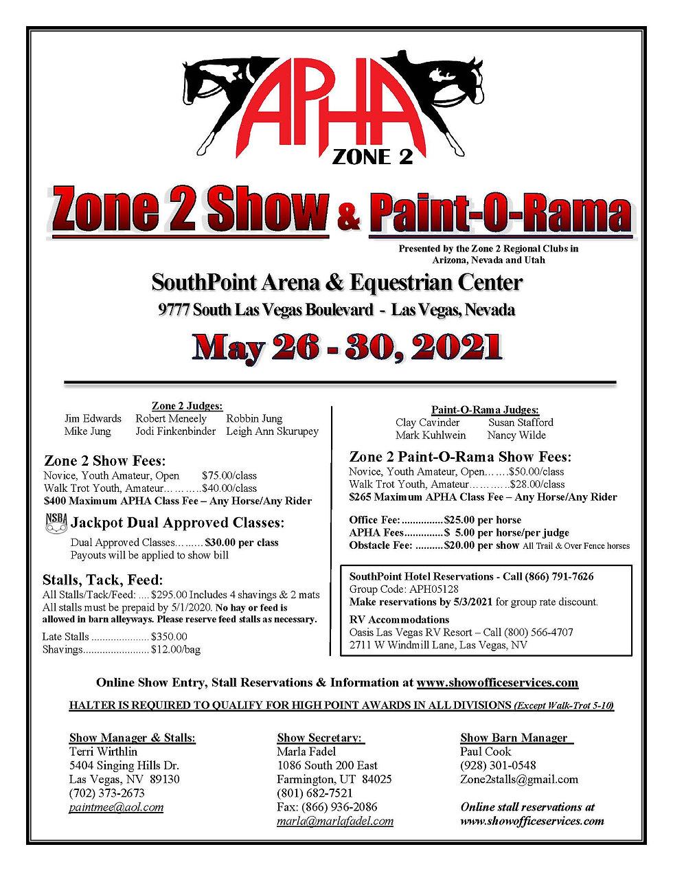 Zone 2 UPHC Showbill 2021.jpg