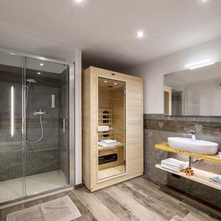 Nivolet bagno sauna