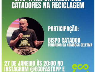 Participação da Kombosa Seletiva em live na próxima semana