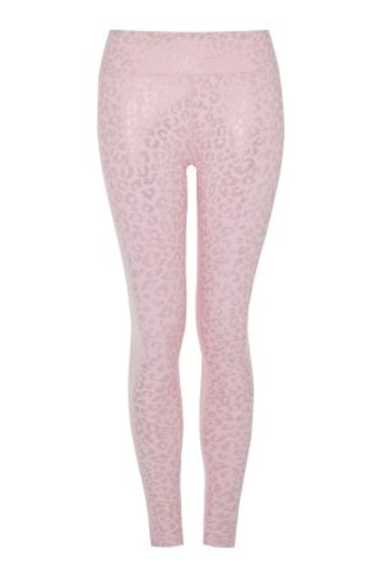 Rose Gold –Leopard Print Leggings
