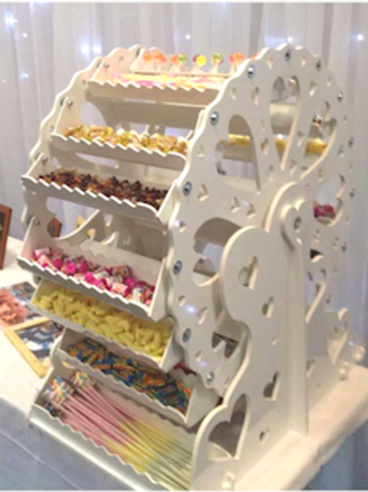 Candy Ferris Wheel Hire (Fully Stocked)