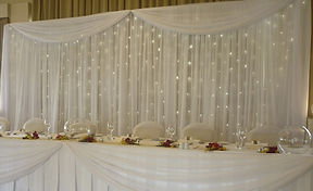 Fairy light LED Backdrop, Weddings, Events, Dublin, Ireland
