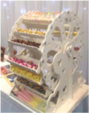 Candy Cart Ferris Wheel, Weddings, Special Events, Dublin, Ireland, Hire
