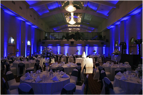 Full Ballroom Uplighting, Uplighters, Weddings, Parties, Events, Dublin, Ireland