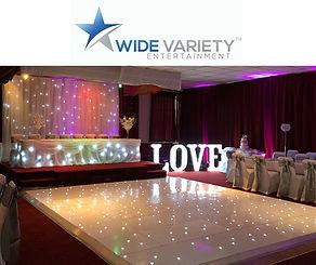Sparkle LED Light Up Twinkling Dance Floor Dublin Ireland Nationwide