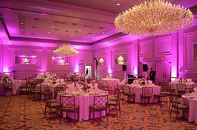Uplighting Service Uplighters to Hire Dublin Ireland Ballroom Uplighting Weddings Special Events