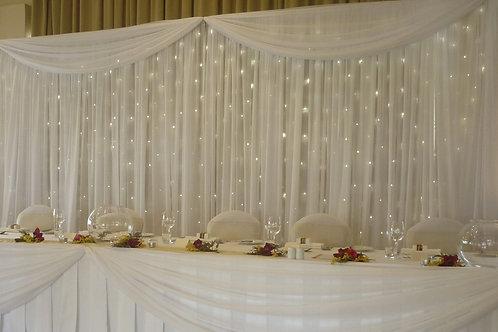 Fairylight LED Backdrop Hire