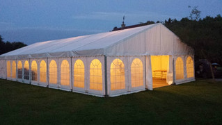 Pros & Cons of a Marquee Party