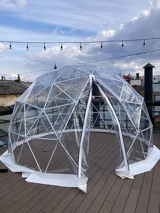 Геокупол Clear Dome ecoPod 4
