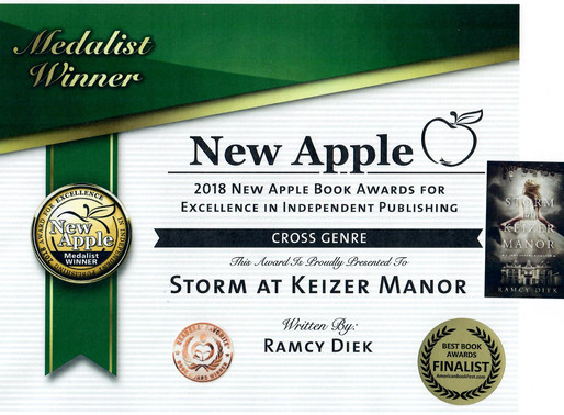 Triple Awards for Storm