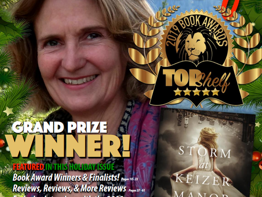 2019 Grand Prize Winner of TopShelf Magazine