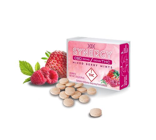 Dixie Elixir Synergy Mixed Berry Mints