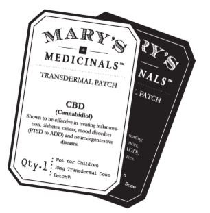Mary's Medicinals CBD Patch