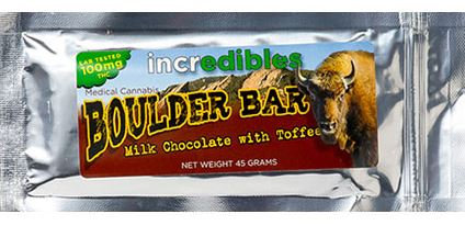 Incredibles Single Serving 10mg Boulder Bar