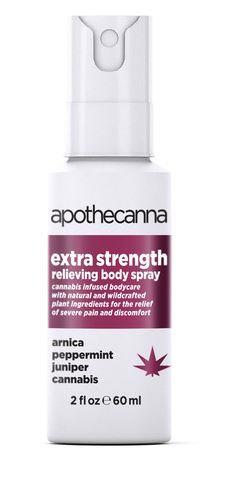 Apothecanna Extra Strength Pain Spray 2oz