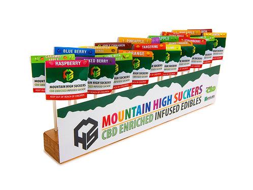 Mountain High Suckers Assorted Suckers