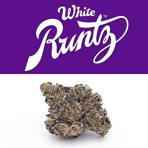 White Runtz pre-packaged 1/8s by Cookies