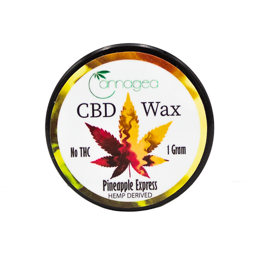 Cannagea 1g CBD Wax- Pineapple Express