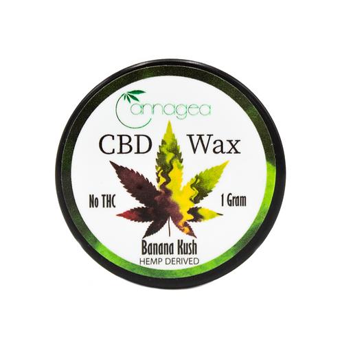 Cannagea 1g CBD Wax- Banana Kush