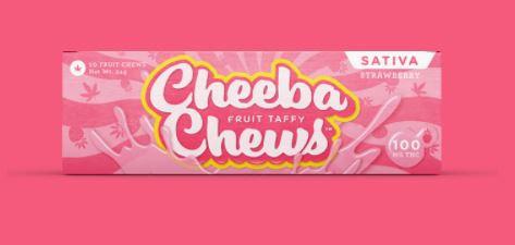 Cheeba Chews Strawberry Sativa