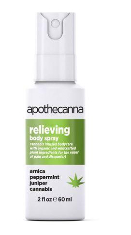 Apothecanna Reliving Body Spray 20z