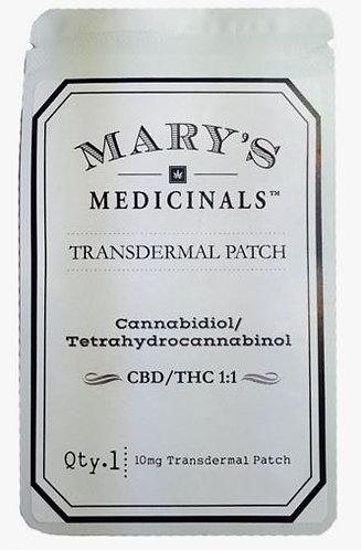 Mary's Medicinals CBD:THC Patch 1:1