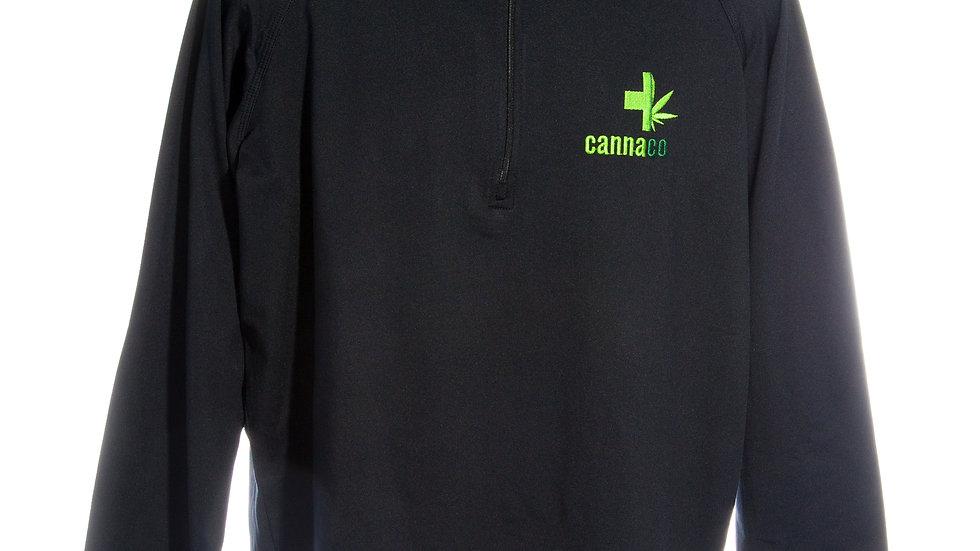 CannaCo Sport TEK Heavy Weight 1/4 Zip Pullover