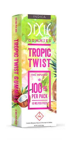 Dixie Elixir Tropic Twist Gummies