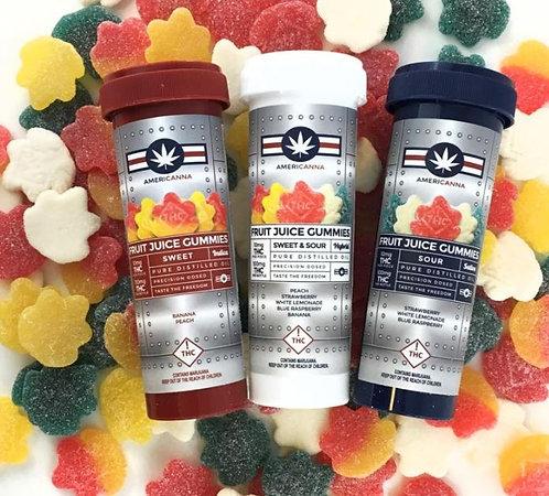 Americanna Sweet Indica Gummies