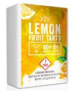Dixie Elixir Fruit Tarts Lemon