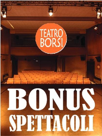 Bonus 4 spettacoli