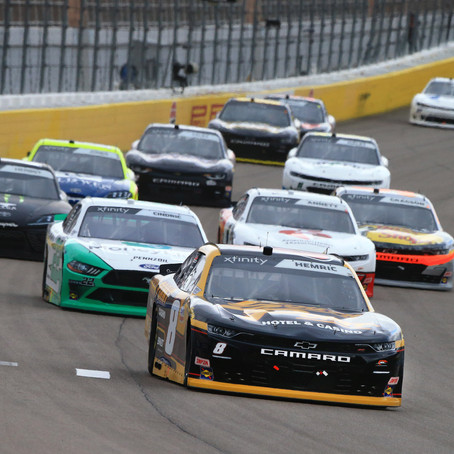 Hemric finds no luck in Vegas
