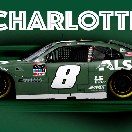 Hemric Ready for Home Game at Charlotte