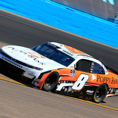 Hemric Eyeing Strong Finish in Season Finale
