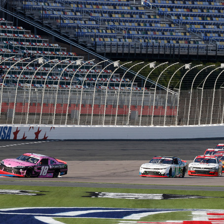 Hemric Advances in Playoffs after Top 5 at Charlotte Roval