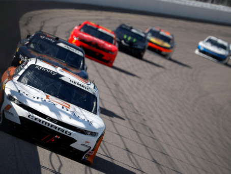 Hemric finishes seventh at Kansas
