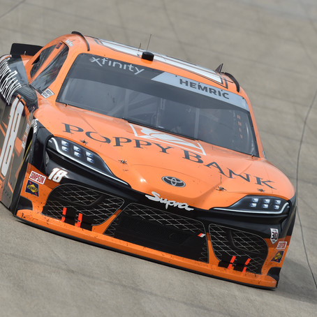 Hemric Rallies from Late Wreck to Finish 13th