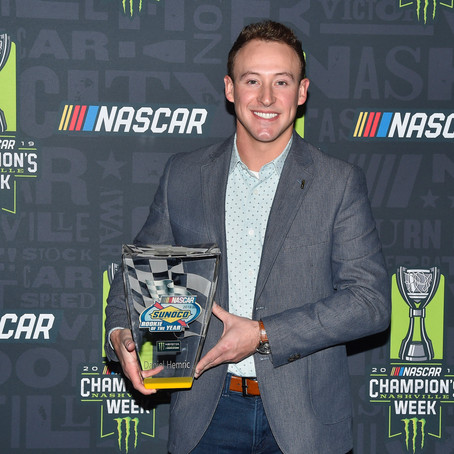 Hemric Picks Rookie Award in Nashville