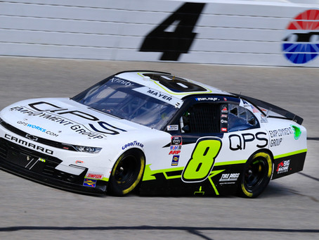 Mayer Scores First Xfinity Series Top-10 Finish