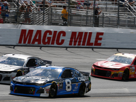 Strong Run Wrecked During Segment Two at Loudon