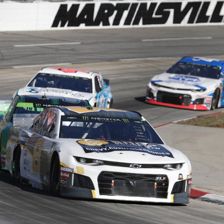 Hemric finishes 17th at Martinsville