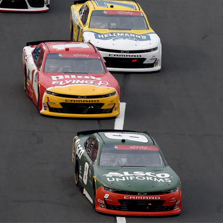 Hemric Rallies for 2nd-place Finish at Charlotte